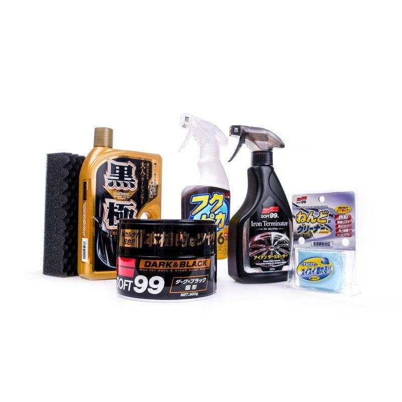 Soft99 Zestaw Basic Dark & Black + Torba (Zestaw startowy) - GRUBYGARAGE - Sklep Tuningowy